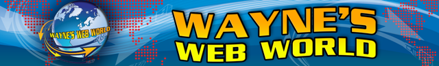 Wayne's Web World Banner